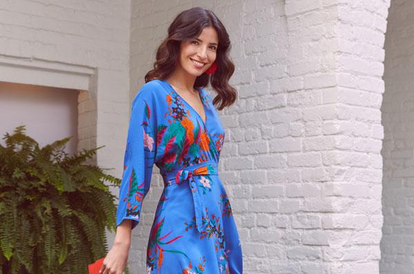 Diane von Furstenberg Camden Cove Wrap Dress