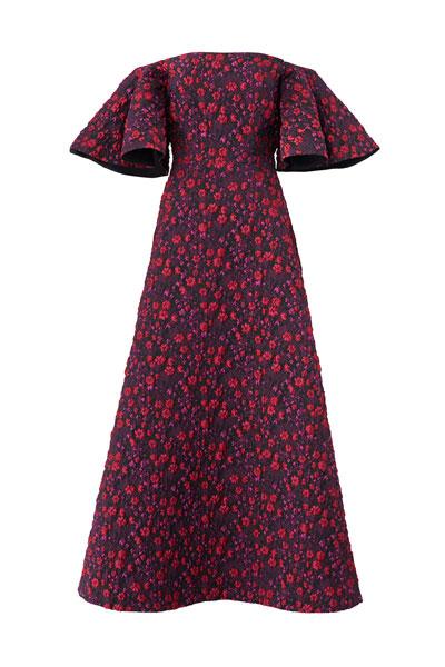 Jill-Jill-Stuart-Floral-Jacquard-Dress